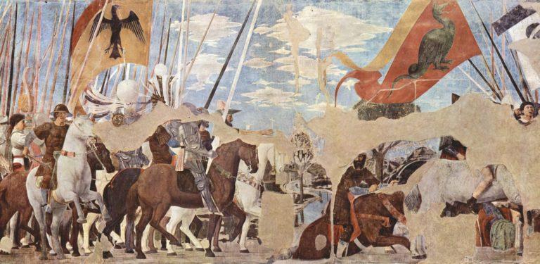 Победа Константина над Максенцием. 1452–1466