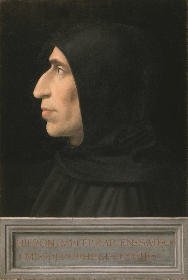 Портрет Джироламо Савонаролы. Ок. 1498