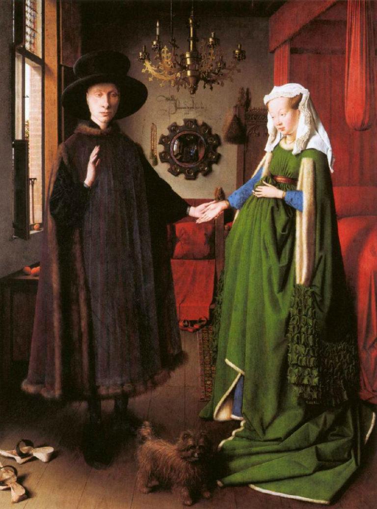 Портрет четы Арнольфини. 1434