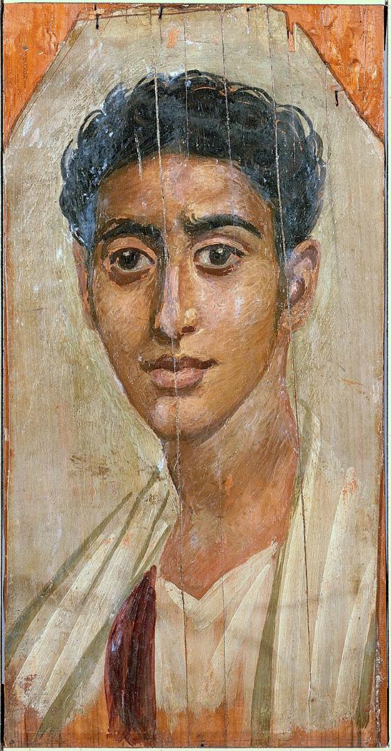 Портрет молодого египтянина. 2 пол. I в.