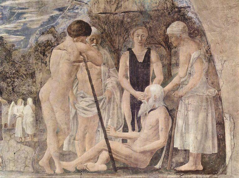 Смерть Адама. Фрагмент. 1452–1466
