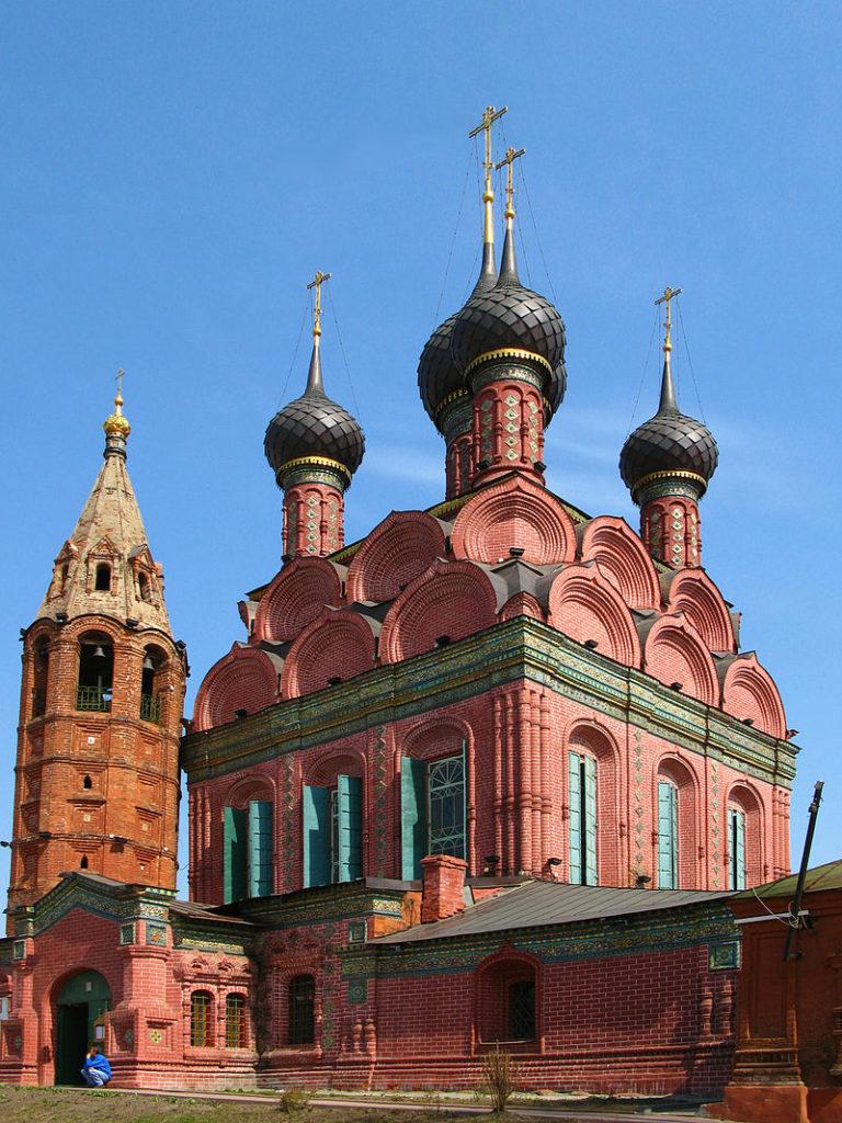 Церковь Богоявления. 1684–1693