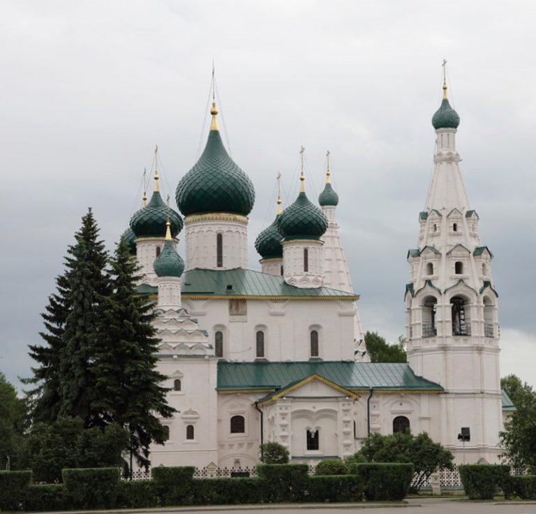 Церковь Ильи Пророка. Вид с севера. 1647—1650