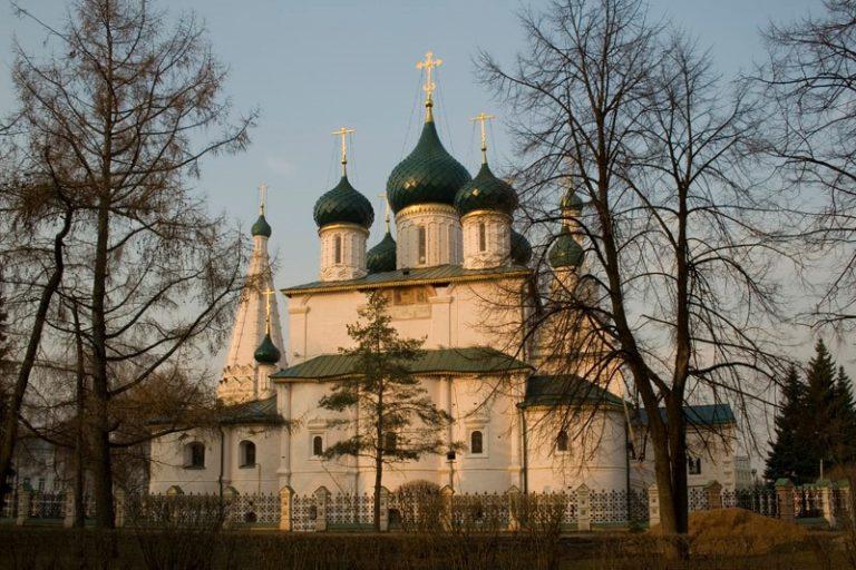 Церковь Ильи Пророка. Вид с востока. 1647—1650