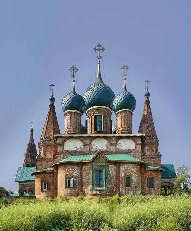 Церковь Иоанна Златоуста. 1649–1716