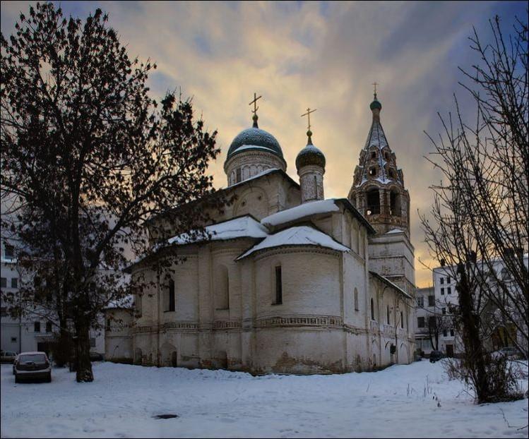 Церковь Николы Надеина. 1620–1621