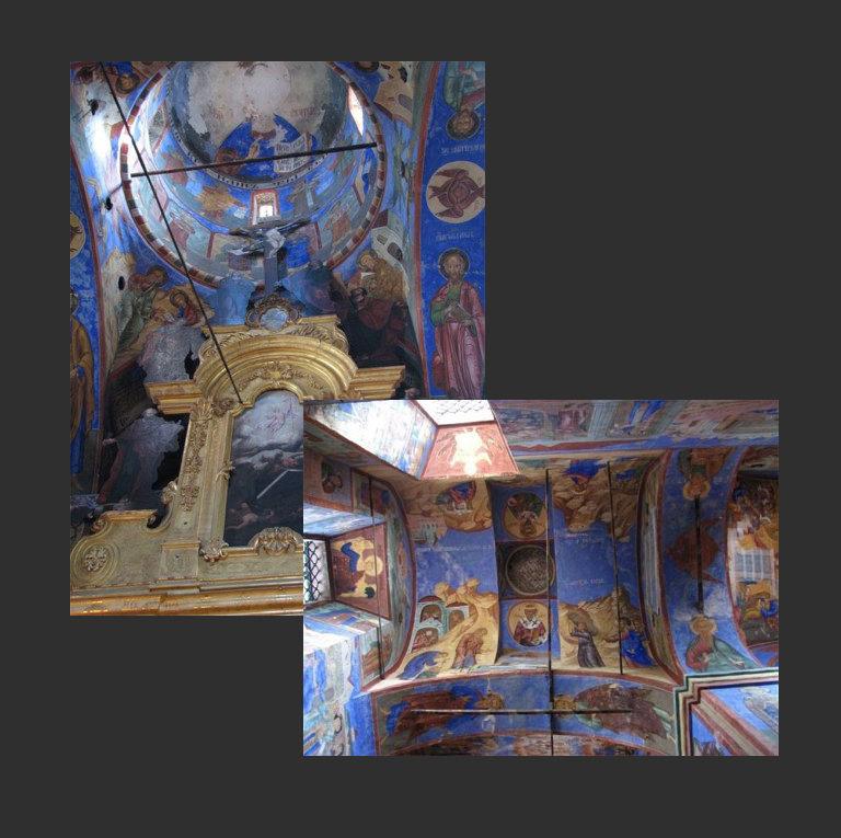 Церковь Николы Надеина. Интерьеры. 1620–1621