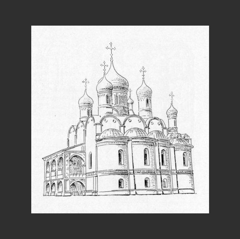 Церковь Николы Надеина. Реконструкция первоначального облика. 1620–1621