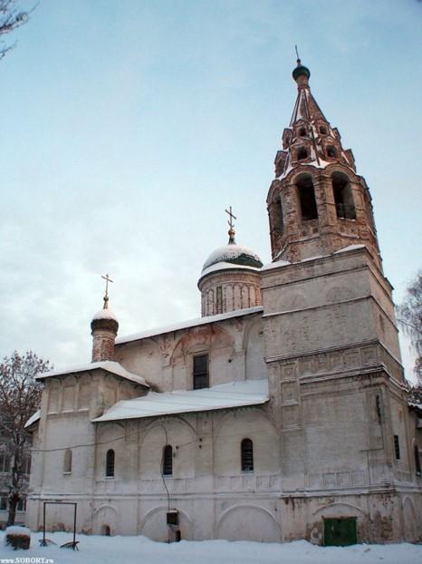 Церковь Николы Надеина. Колокольня. 1620–1621