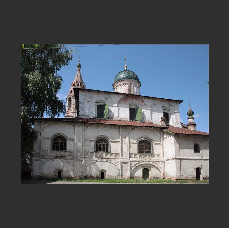 Церковь Николы Надеина. Вид с юга. 1620–1621