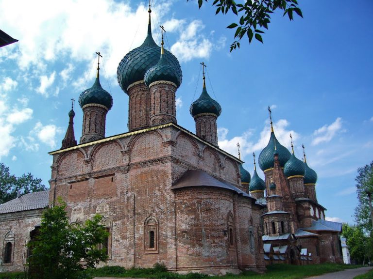 Церковь Владимирской иконы Божией Матери. 1669
