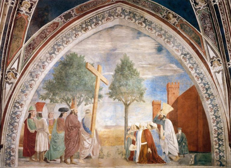 Воздвижение Креста Господня. 1452–1466
