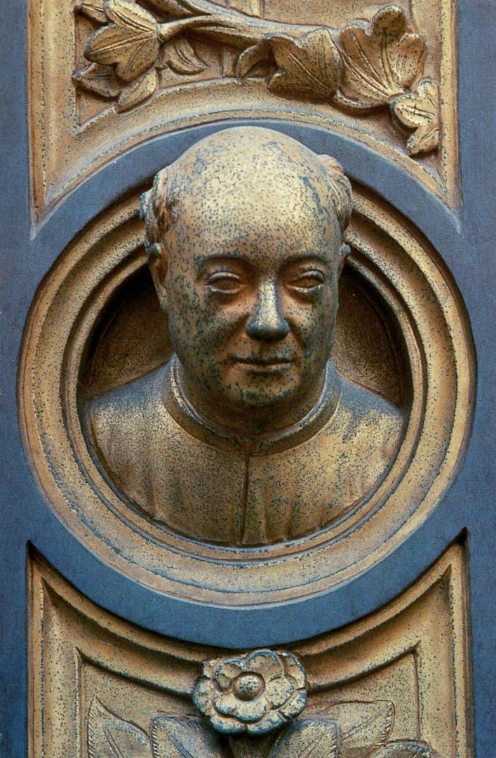 Автопортрет. Фрагмент «Райских врат». 1425–1452