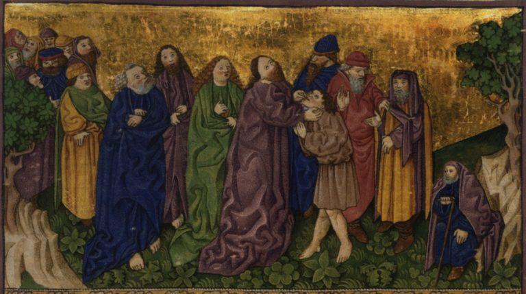 Исцеление глухонемого. 1425–1430
