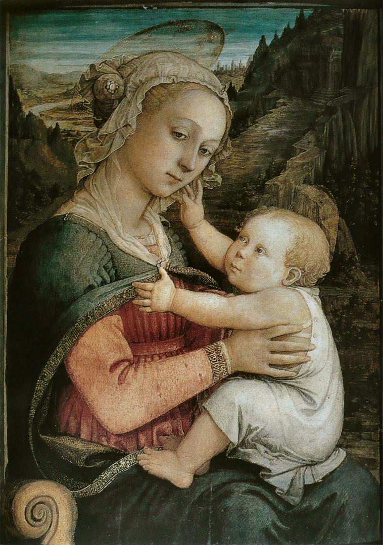 Мадонна с Младенцем. Ок. 1465