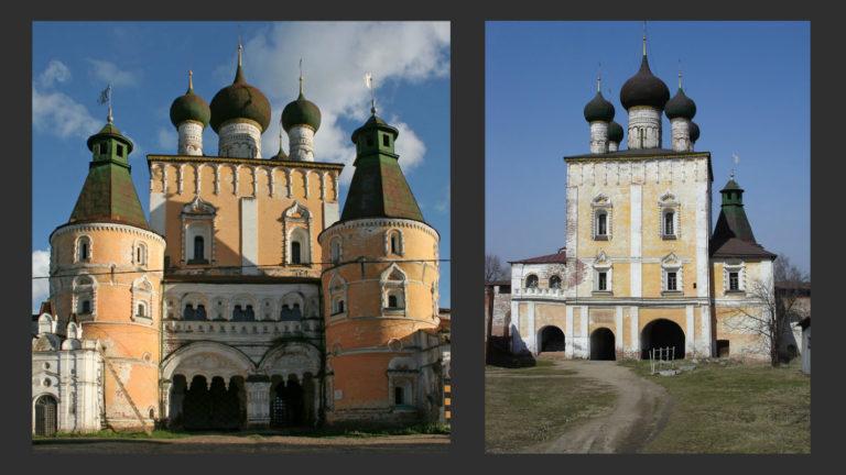 Надвратная церковь Сретения. 1692