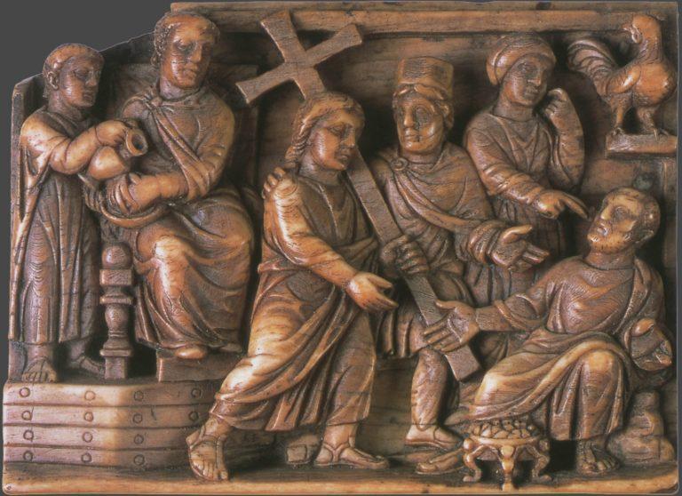 Несение Креста. 420–420