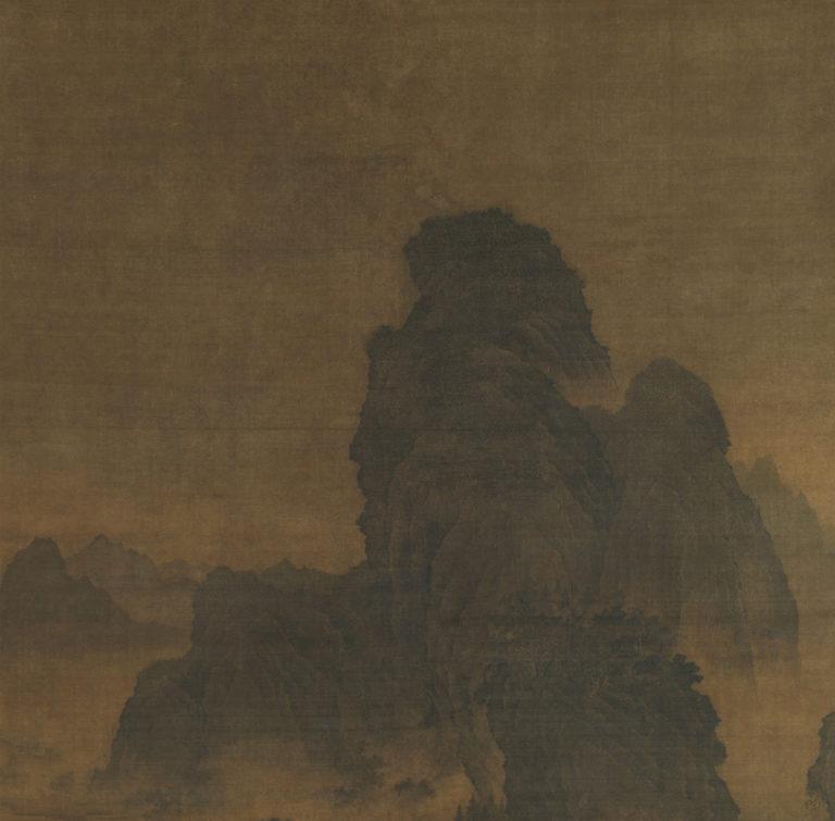 Пейзаж в стиле Фань Куаня. Фрагмент «даль по высоте». Нач. XII в.