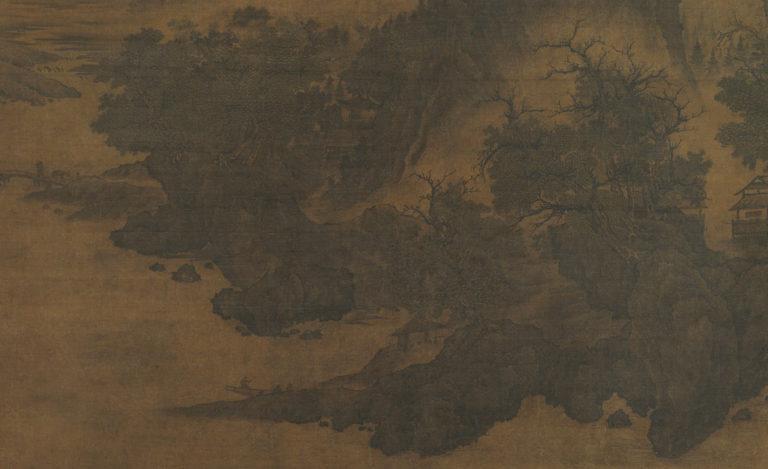 Пейзаж в стиле Фань Куаня. Фрагмент. Нач. XII в.
