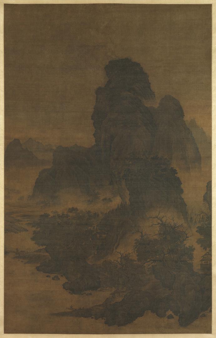 Пейзаж в стиле Фань Куаня. Нач. XII в.