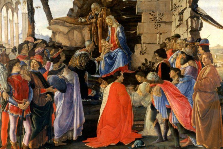 Поклонение волхвов. Ок. 1475