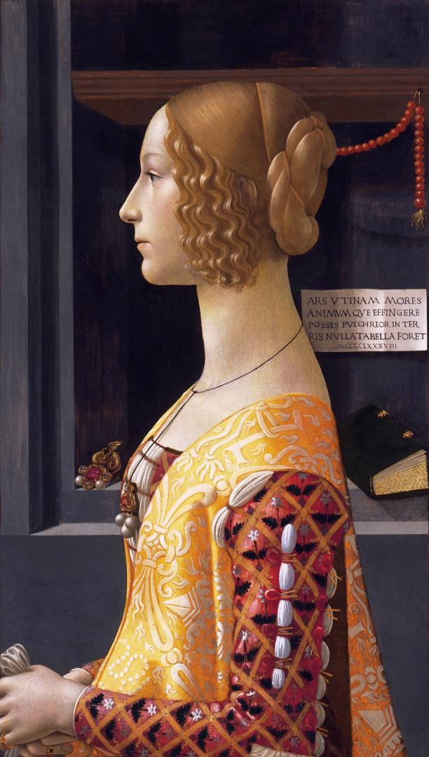 Портрет Джованны Торнабуони. 1488