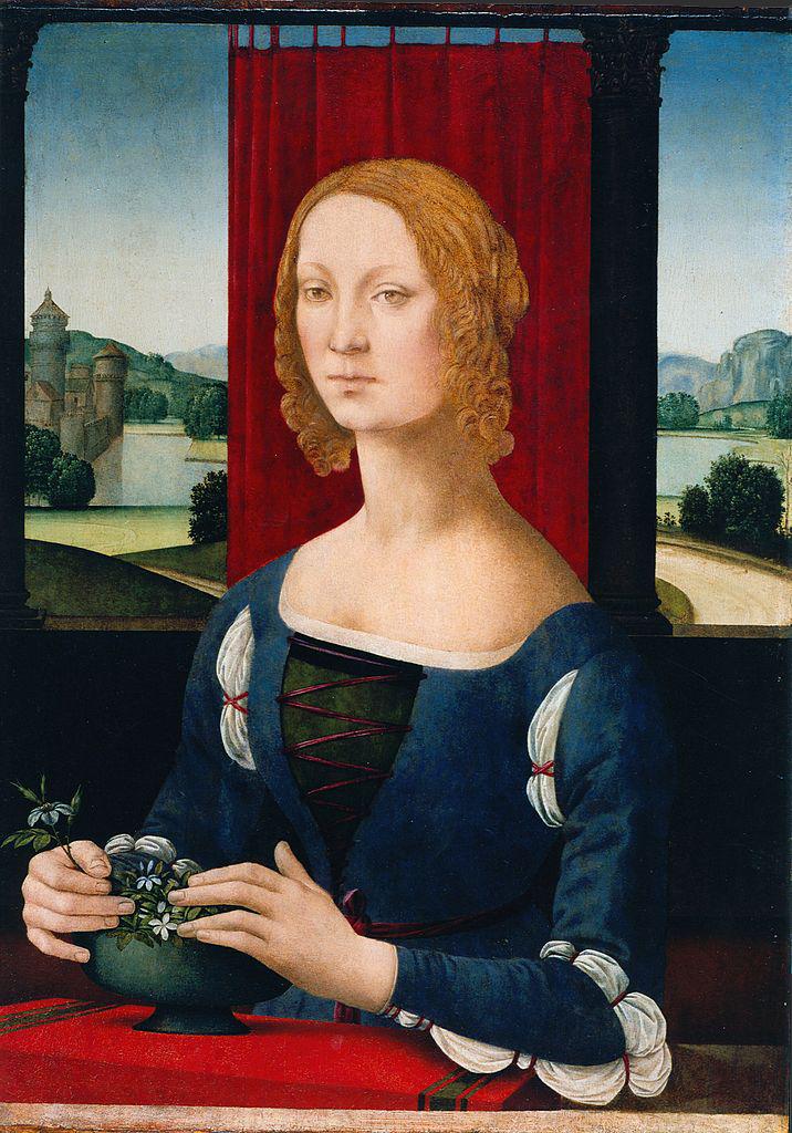 Портрет Катерины Сфорца. Ок. 1481–1483