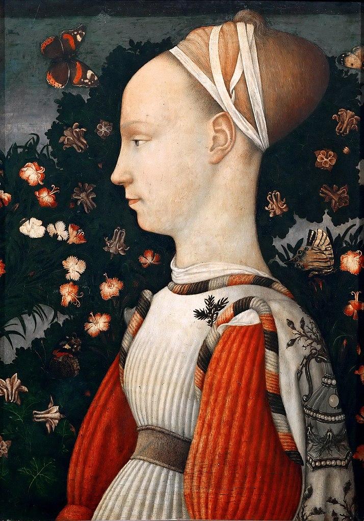 Портрет принцессы (Портрет Джиневры д'Эсте). 1435–1445