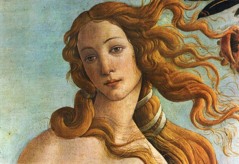 Рождение Венеры. Фрагмент. 1482–1485
