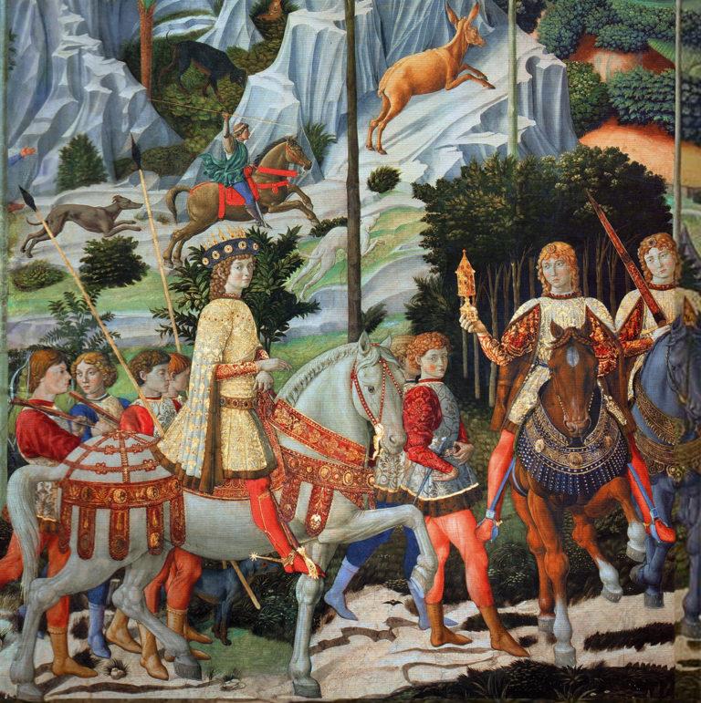 Шествие волхвов. Фрагмент. 1459–1460