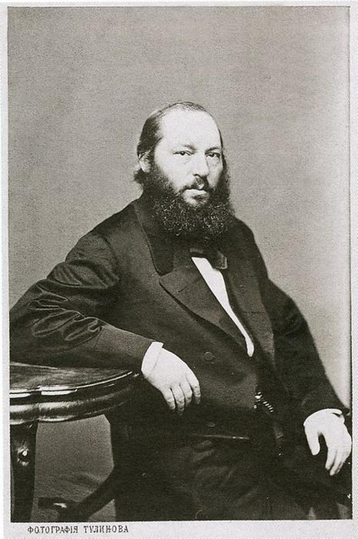 Афанасий Афанасьевич Фет (1820-1892). Фото нач. 1860-х