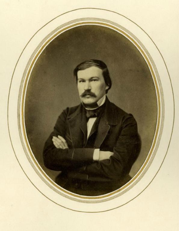 Александр Васильевич Дружинин (1824–1864). Фото 1856 г.