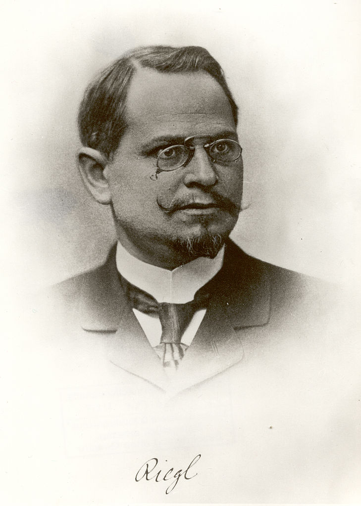 Алоиз Ригль (нем. Alois Riegl, 1858–1905)