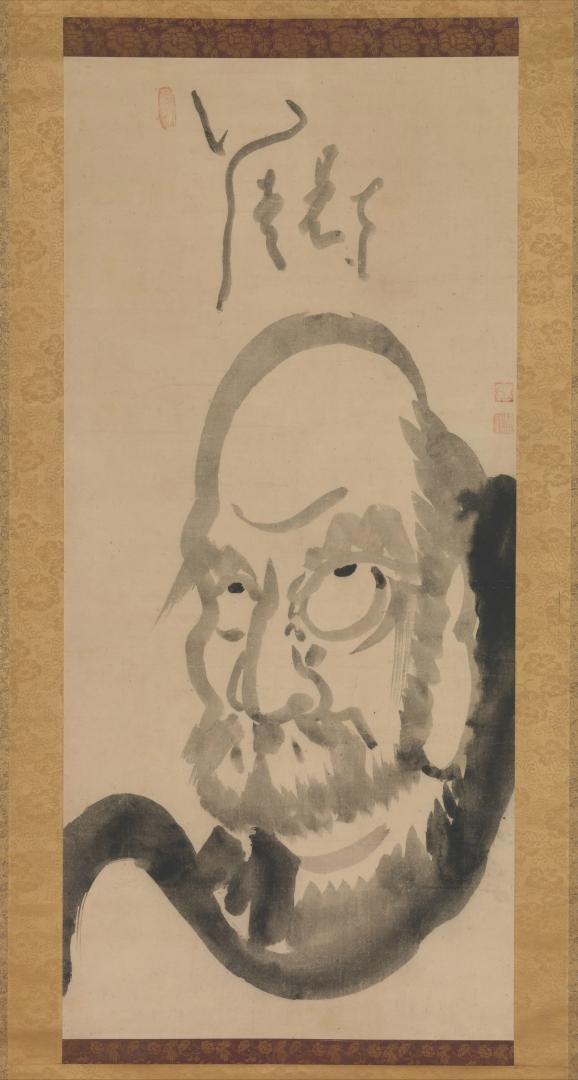 Бодхидхарма. Япония, сер. XVIII в.