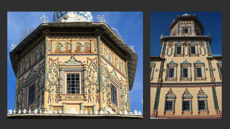 Фрагменты наружного декора собора Петра и Павла