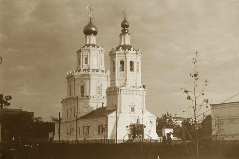 Георгиевская церковь (не сохранилась). 1702