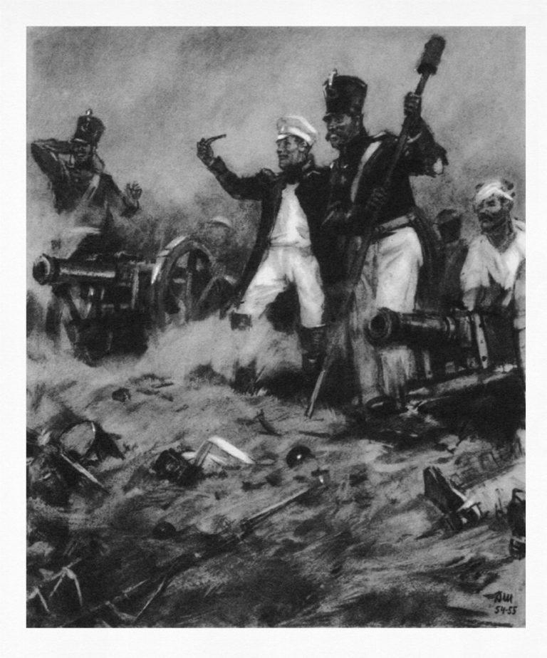 Иллюстрация к роману Л. Н. Толстого «Война и мир»