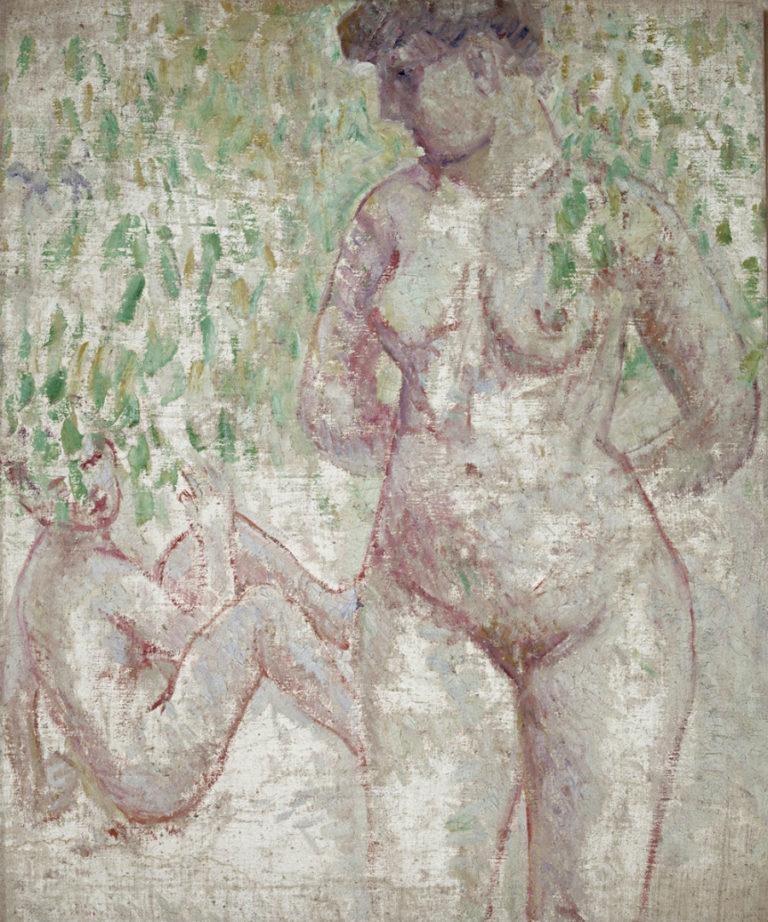 Купальщицы. 1907–1908