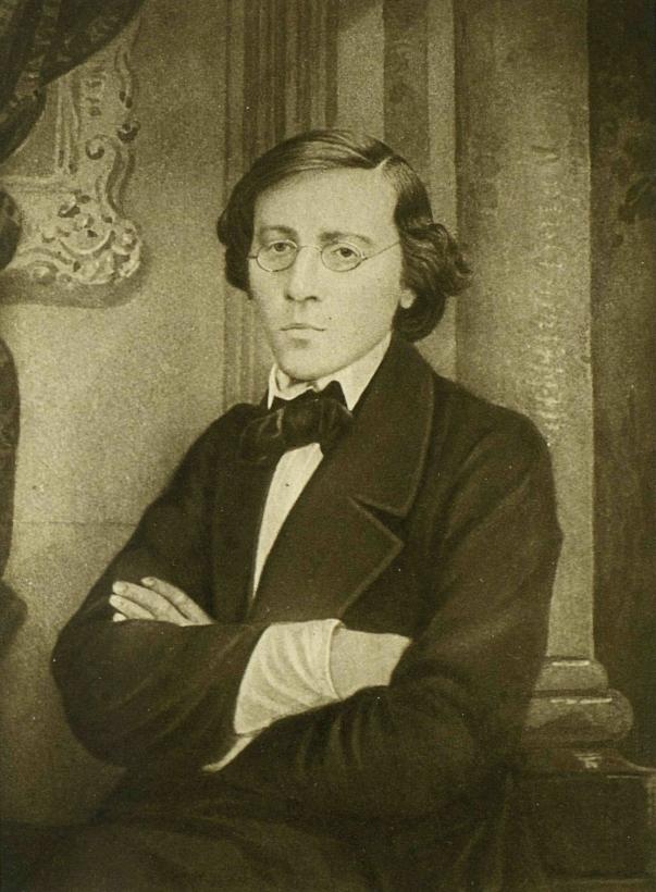 Николай Гаврилович Чернышевский (1828–1889). Фото 1859 г.