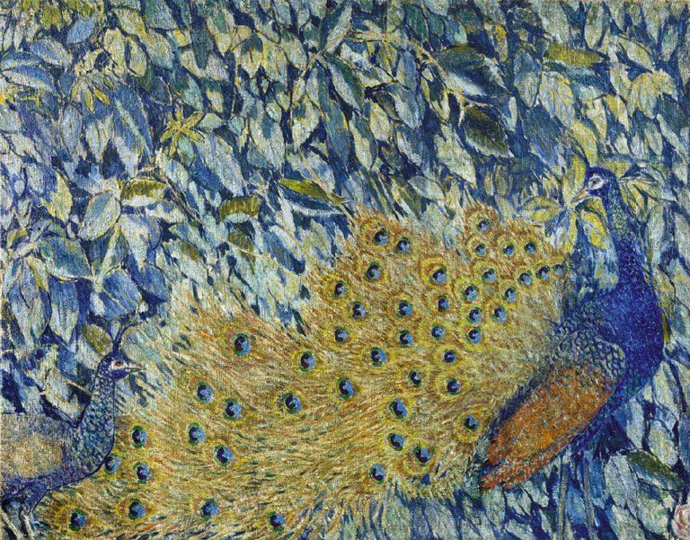 Павлин. 1907