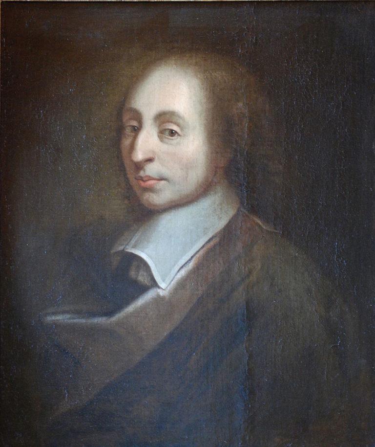 Портрет Блеза Паскаля. Ок. 1690