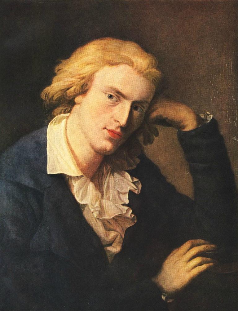 Портрет Фридриха Шиллера. 1790
