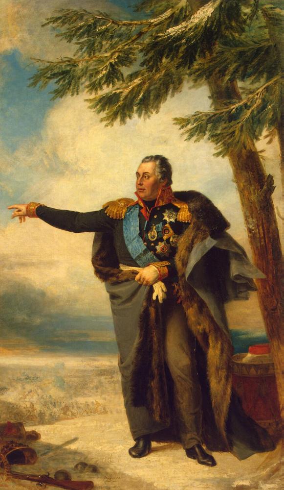 Портрет Михаила Илларионовича Кутузова. 1822