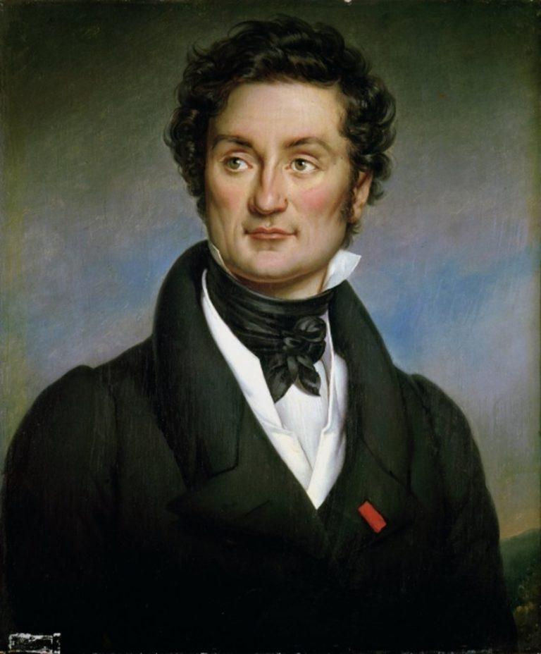 Портрет Шарля Нодье. 1824