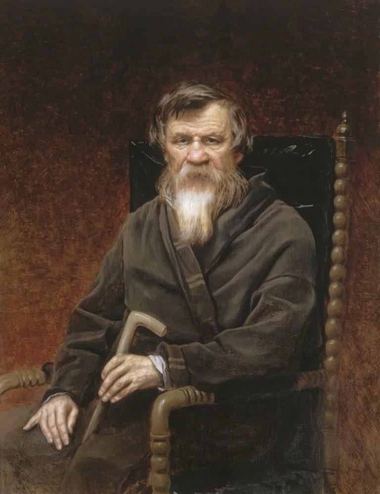 Портрет историка Михаила Петровича Погодина. 1872