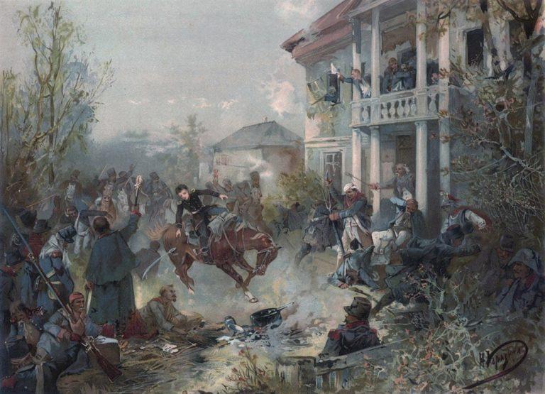 Смерть Пети Ростова. 1893