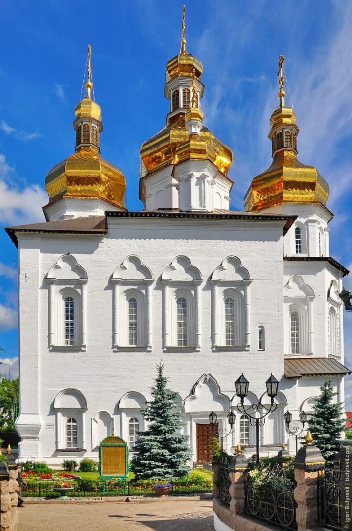 Собор Свято-Троицкого монастыря. 1709–1715