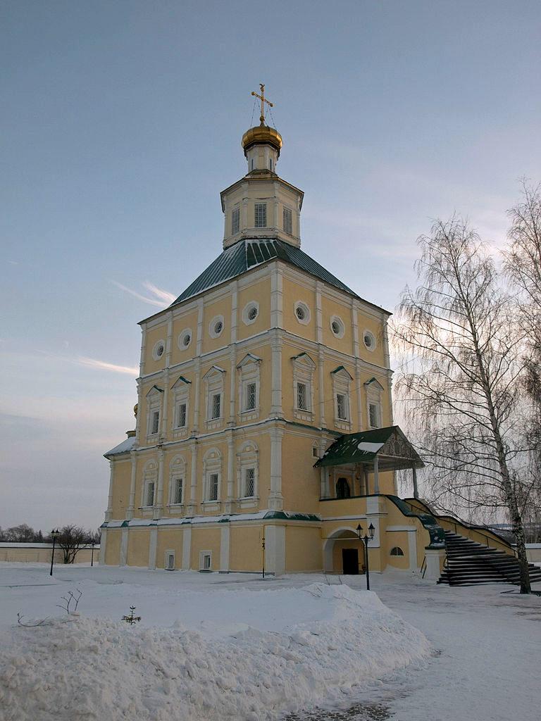 Церковь Иоанна Богослова, вид с северо-запада. 1700–1704
