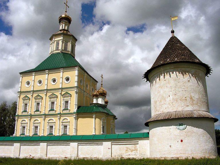 Церковь Иоанна Богослова, вид с юго-востока. 1700–1704