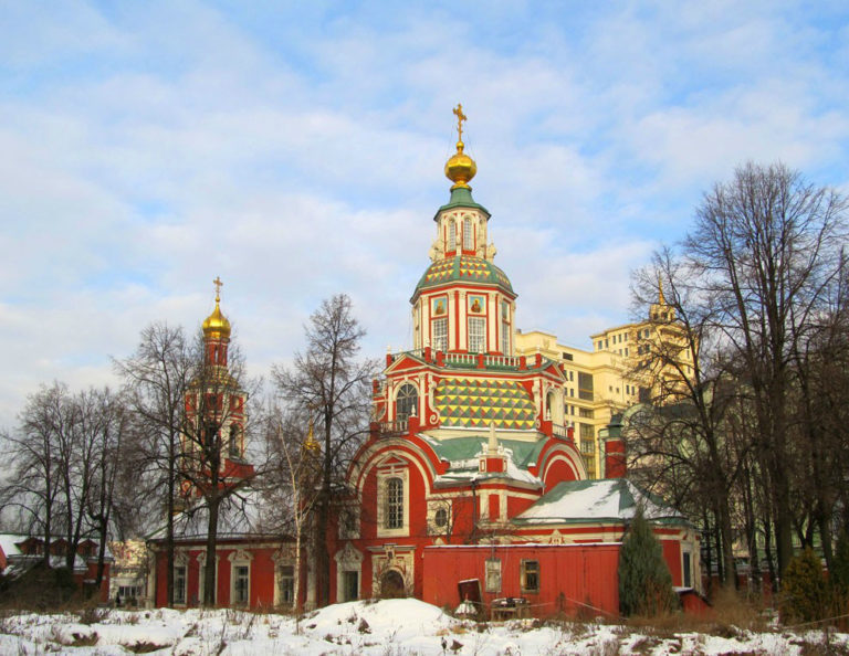 Церковь Иоанна Воина на Якиманке. 1709–1717